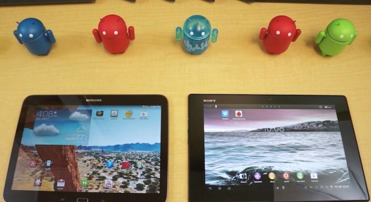 Confronto tra Samsung Galaxy Tab 3 10.1 e Sony Xperia Tablet Z