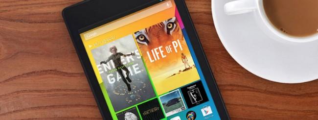 Uscita nuovo Nexus 7 in Italia e prezzo ufficiale