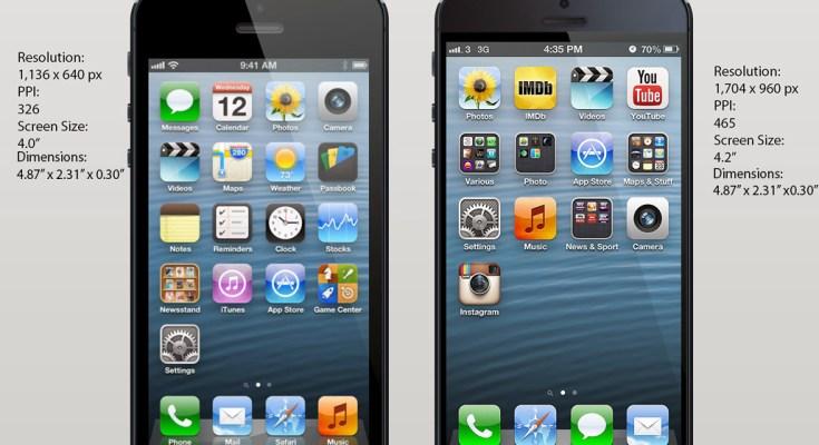 Confronto tra iPhone 5S e iPhone 5