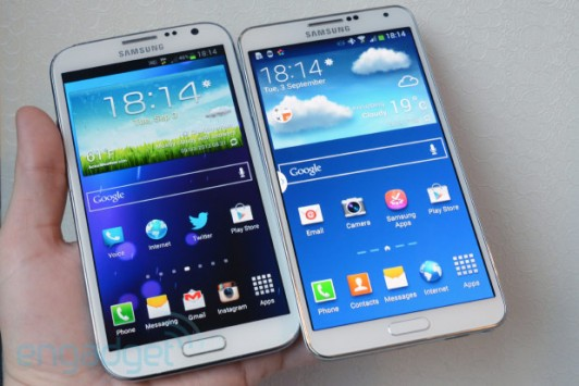 Differenze tra Galaxy Note 3 e Galaxy Note 2