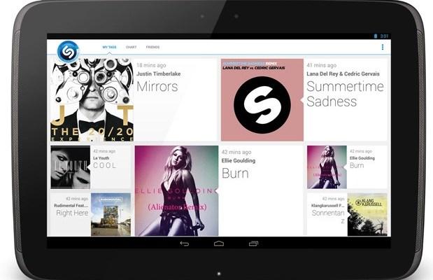 Shazam 4.0 per Android