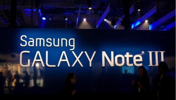Primi benchmark del Samsung Galaxy Note 3