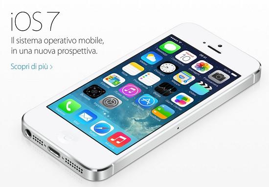 iOS 7: Scaricare e aggiornare iPhone 5, 4S e 4 e Guida nuove funzioni