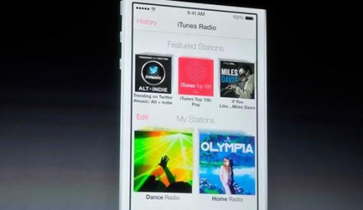 iTunes Radio ufficiale con iOS 7