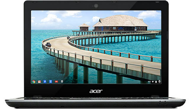 Acer C720 Chromebook giunge in Europa a 249 euro