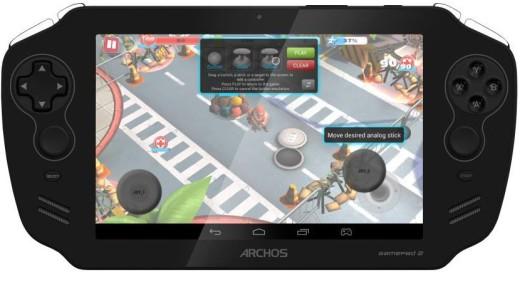 Archos GamePad 2: Carattteristiche tecniche ufficiali