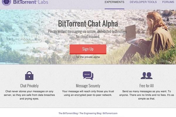 BitTorrent Chat: Novità