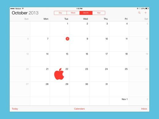 Evento Apple il 22 ottobre 2013