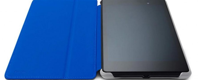 Custodie colorate per Nexus 7 disponibili sul Play Store