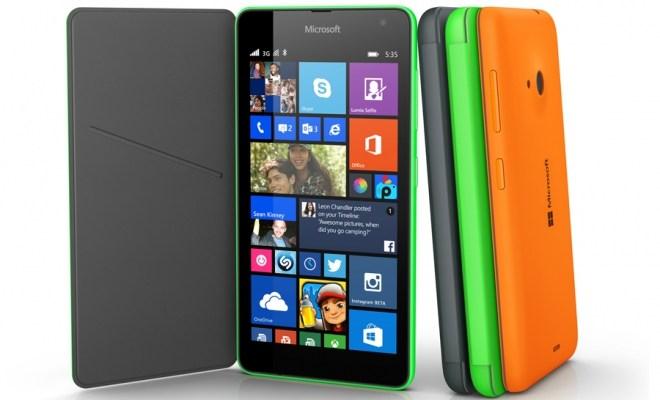 Lumia 535 ufficiale