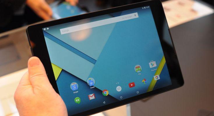 Nexus 9 produzione