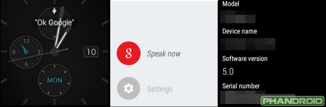 Android Wear Lollipop