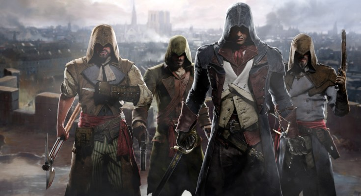 assassin's creed unity uscita