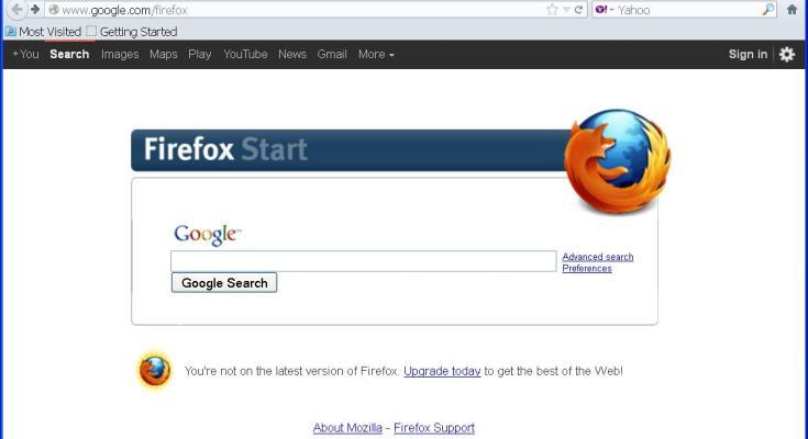 Google fuori da Firefox