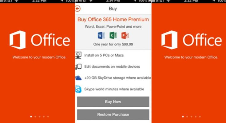 Microsoft Office iPhone
