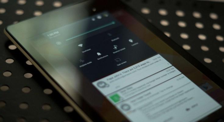 Nexus 7 2012 Android Lollipop