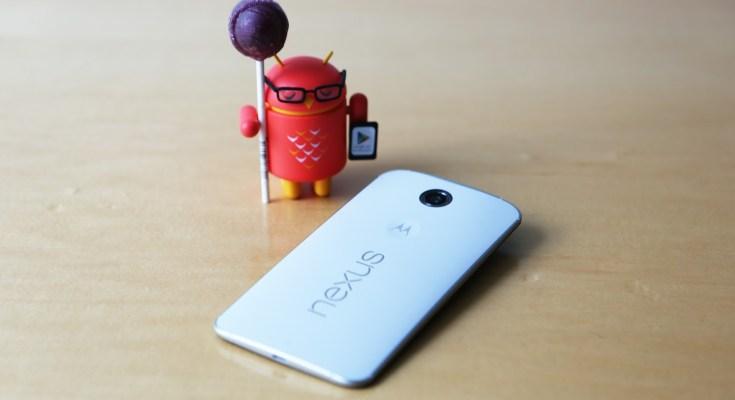 Nexus aggiornamento Android Lollipop