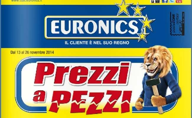 volantino euronics 26 novembre
