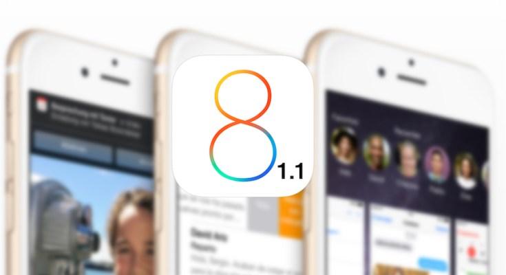 iOS 8.1.1 firme chiuse