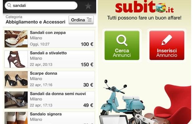 Subito.it App iOS