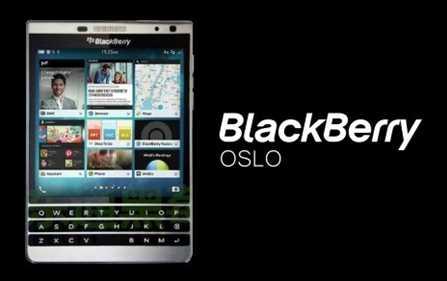 BlackBerry Oslo