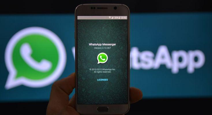 whatsapp indagata