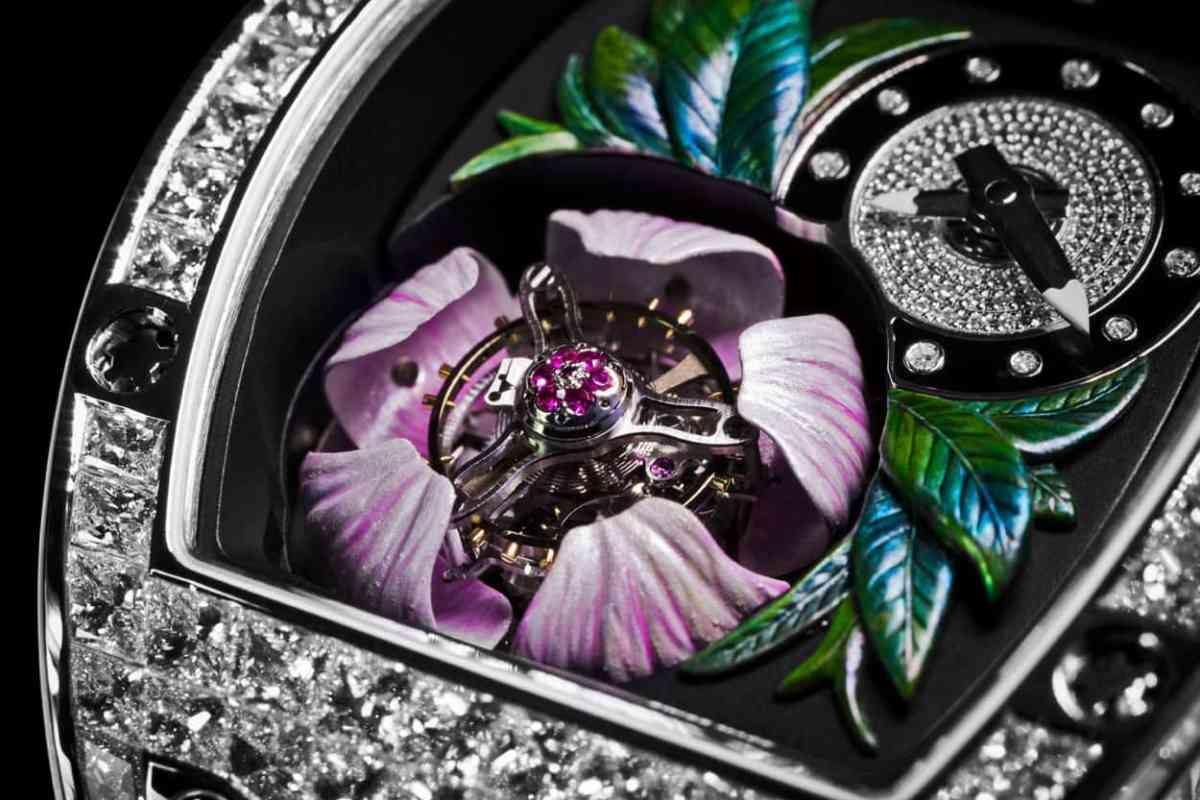 Richard Mille Tourbillon Fleur