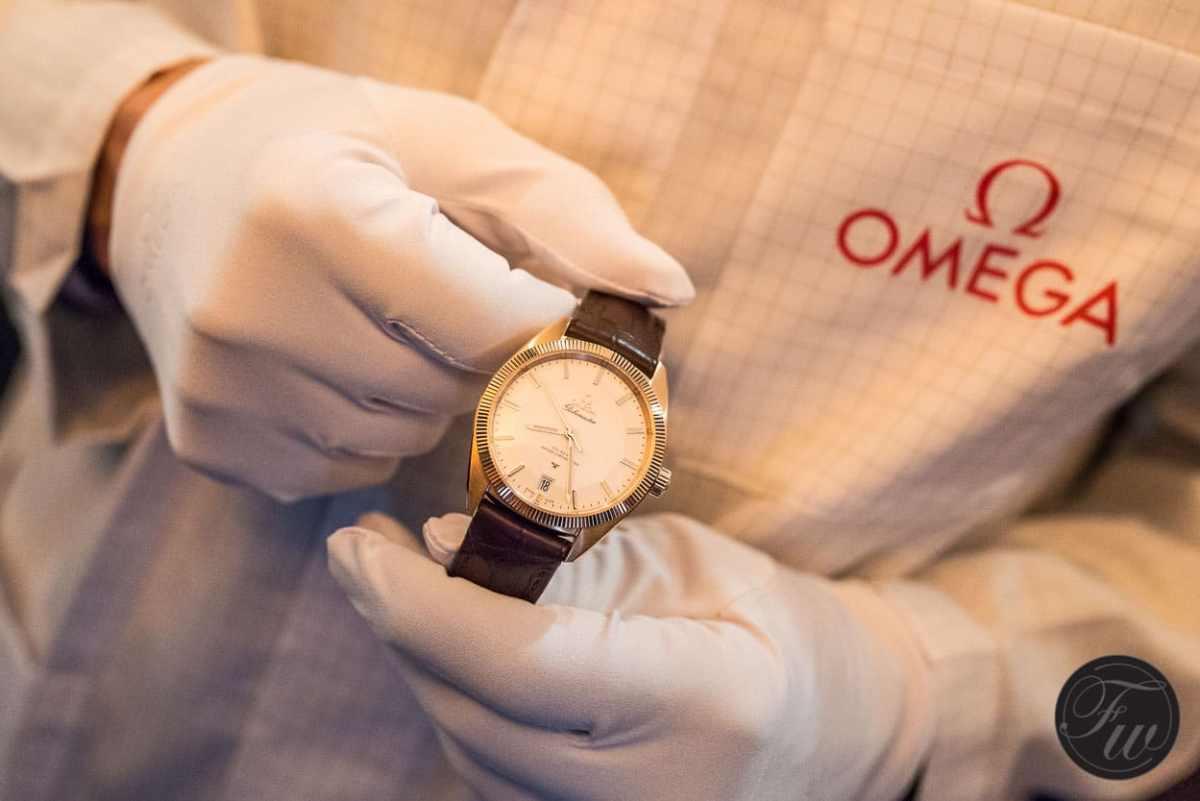 Omega Globemaster presented