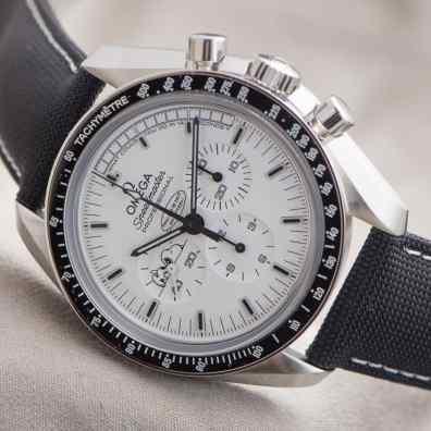 Omega Speedmaster Professional Silver Snoopy Award