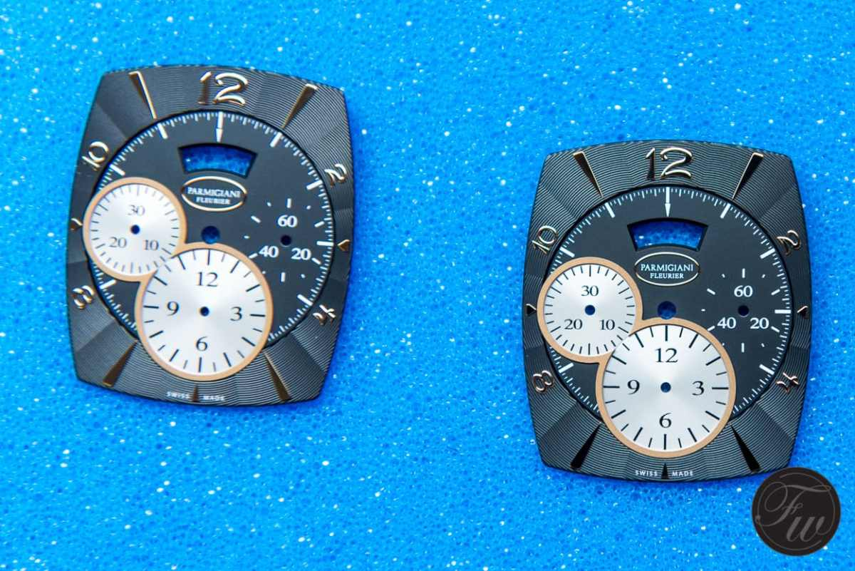 Finished dials