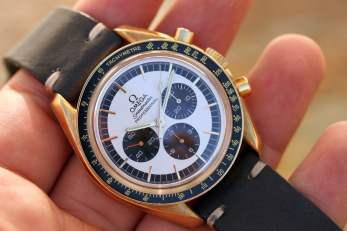 Gold Speedmaster Panda 3690.30.01