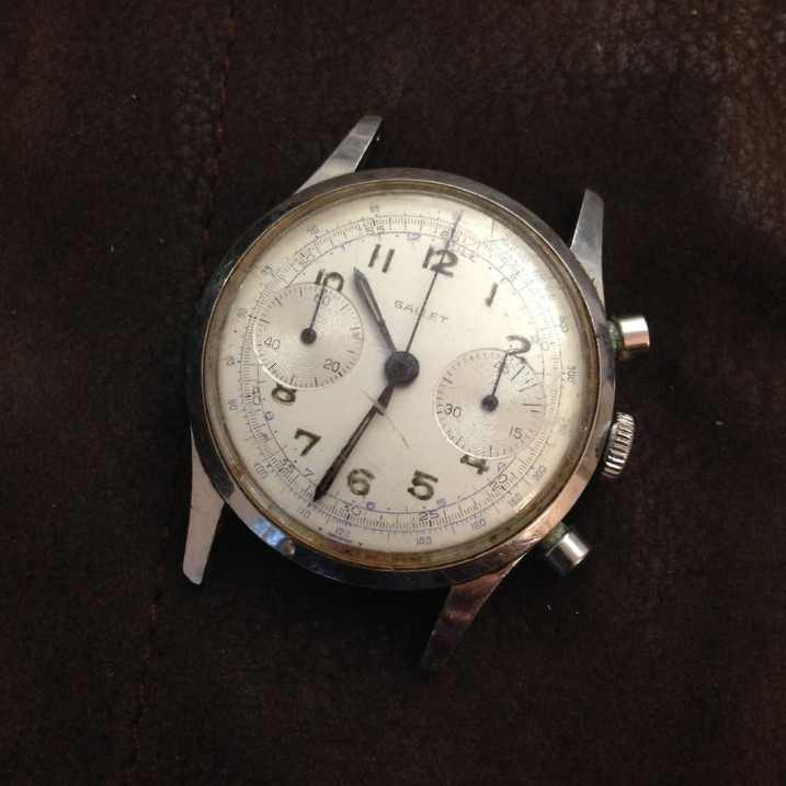 The Gallet Multichron 45 as bought