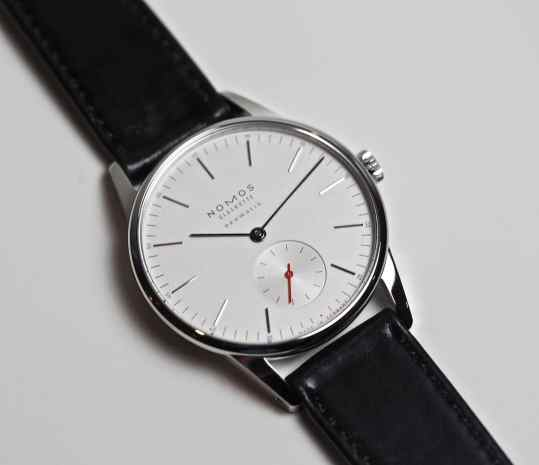 My favorite of the new lineup - the Nomos Neomatik Orion