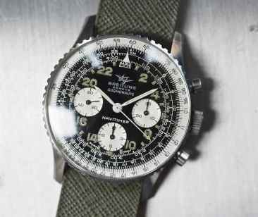 The Breitling 809 Cosmonaute head on