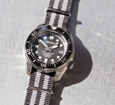 Despite a case diameter of 44mm, the Seiko MM300 doesn't wear so large. Credit those short lugs.