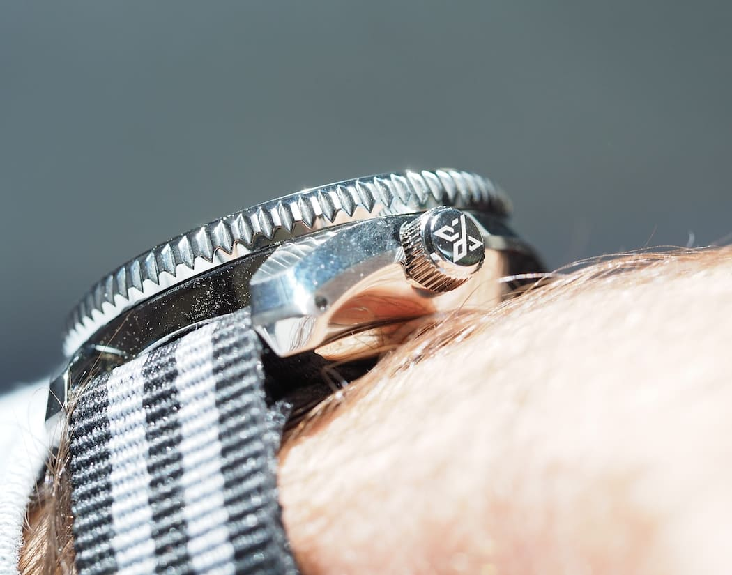 Note the height of the Seiko MM300 on my wrist - it's tall at roughly 14.5mm thick.