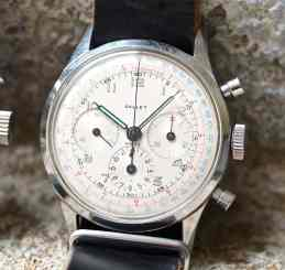 The Gallet Multichron 12 with an EP40 movement - note how the sub registers float inside of the minutes track