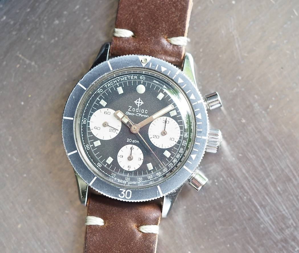 The Zodiac Sea-Chron is well-balanced despite a lot of information on its dial