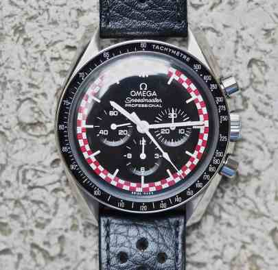 "The Speedmaster TinTin is my ""go to"" watch on Speedy Tuesday"
