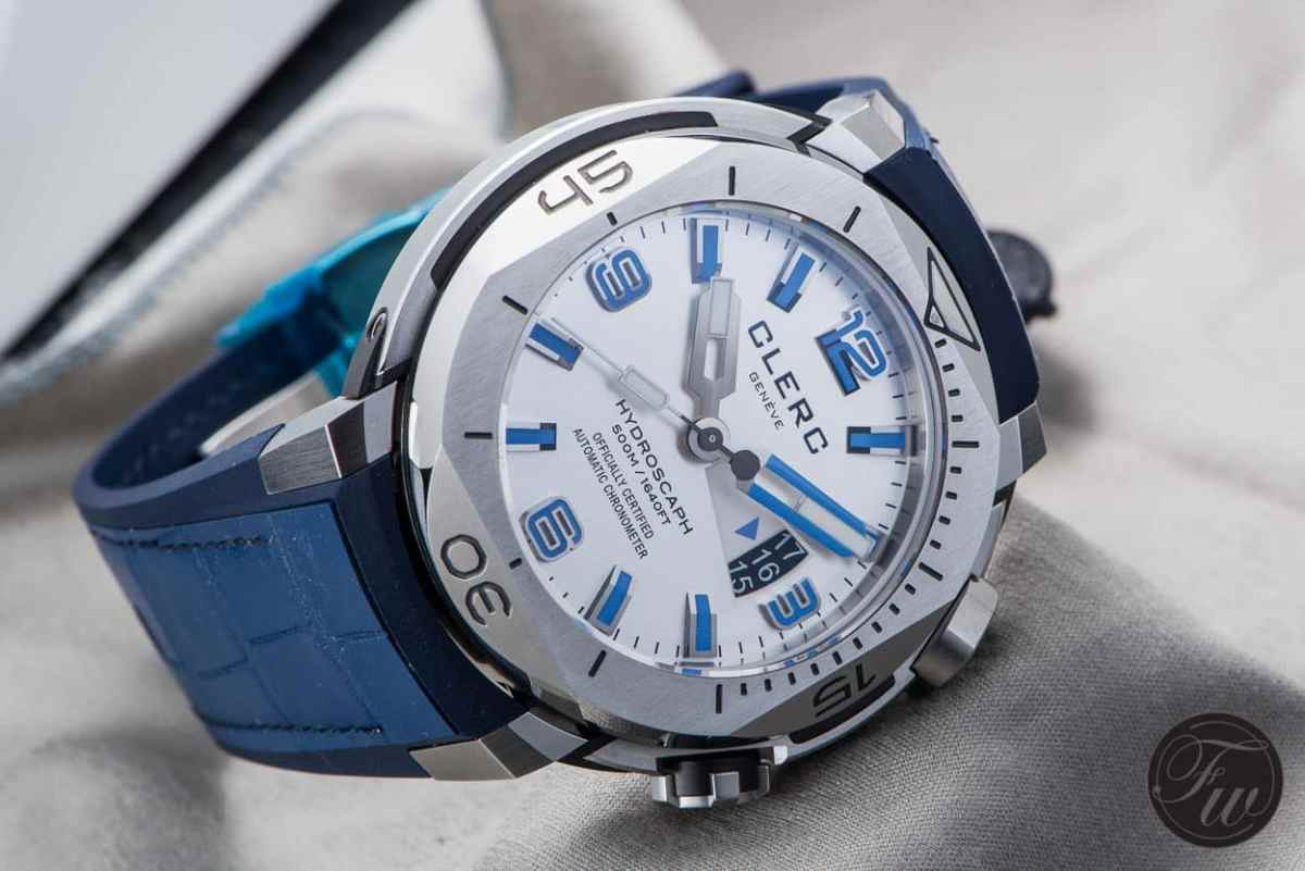 Date window Clerc Hydroscaph H1 Chronometer