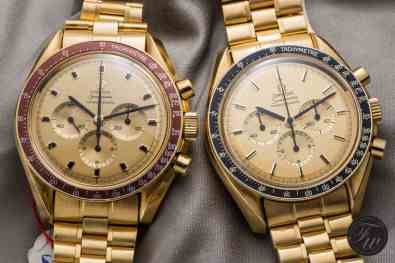 Gold Omega Speedmaster Professional Apollo XI BA145.022 345.0802