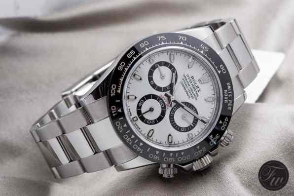 stainless steel Rolex Daytona