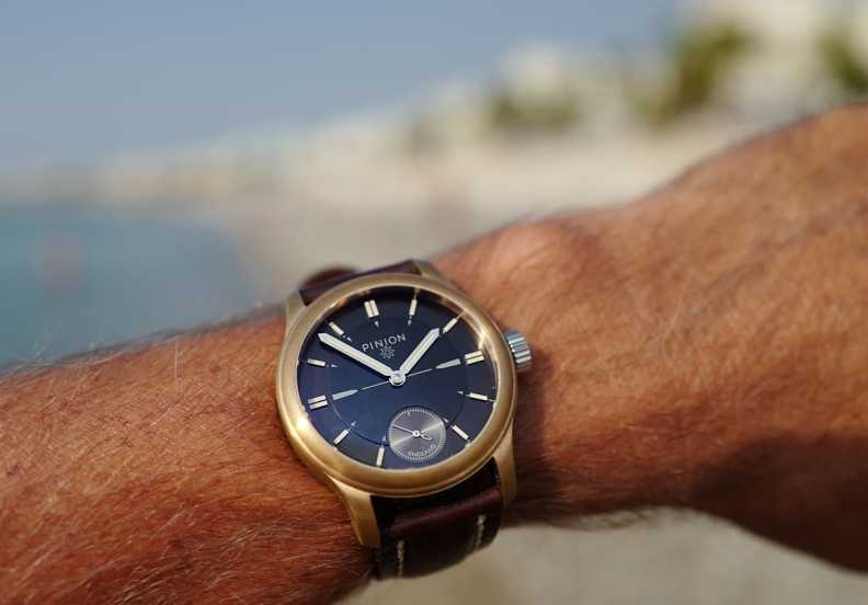 Pinion Pure - Bronze Watch