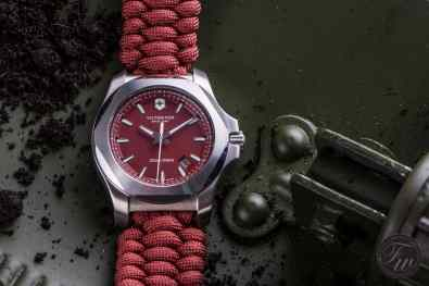 Victorinox INOX Paracord red