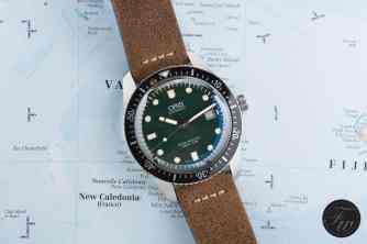 Oris Divers Sixty-Five Green Dial