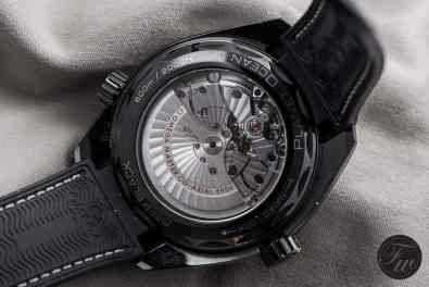 Caliber 8906 of the Planet Ocean Deep Black