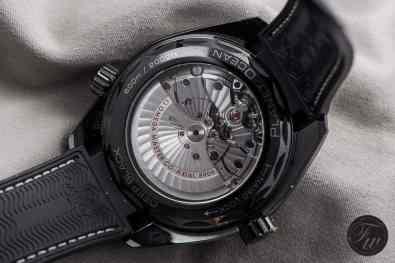 Caliber 8906 of the Planet Ocean Deep Black