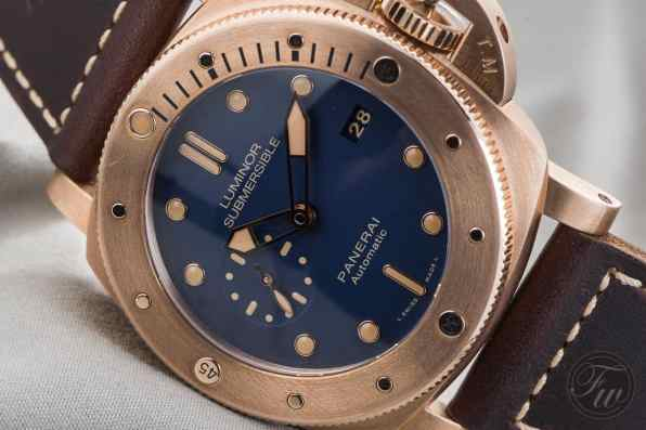 PANERAI LUMINOR SUBMERSIBLE 1950 3 DAYS AUTO BRONZO-4787