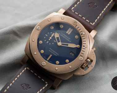 The Panerai PAM 671 Luminor Submersible 1950 3 Days Automatic Bronzo