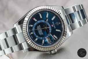 Steel Rolex Sky-Dweller 326934